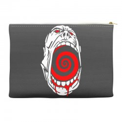 screaming face Accessory Pouches | Artistshot