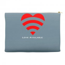 love broadcast Accessory Pouches | Artistshot