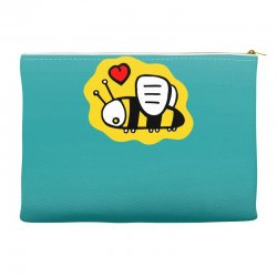 love bee lover valentine Accessory Pouches | Artistshot