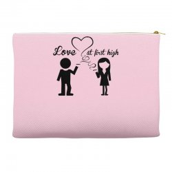 love at first high Accessory Pouches   Artistshot