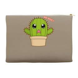 funny cactus hug Accessory Pouches | Artistshot