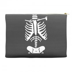 funny bone skeleton Accessory Pouches | Artistshot