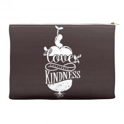love cultivate kindness Accessory Pouches | Artistshot