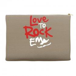 love to rock em Accessory Pouches | Artistshot