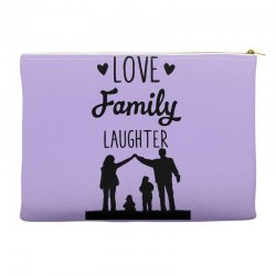 love family laughter Accessory Pouches | Artistshot