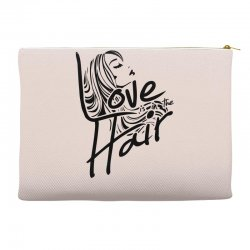 love is in the hair Accessory Pouches   Artistshot