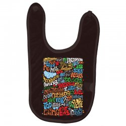 funny john lennon imagine quote Baby Bibs | Artistshot