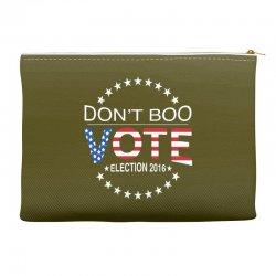 Don't Boo Vote 2016 Accessory Pouches | Artistshot