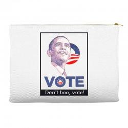 Vote Obama Accessory Pouches | Artistshot