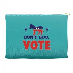 Don't Boo Vote 02 Accessory Pouches | Artistshot