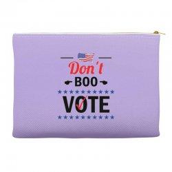 Don't Boo Vote 01 Accessory Pouches | Artistshot