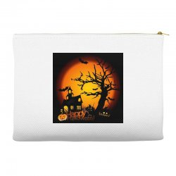 Happy Halloween Accessory Pouches | Artistshot