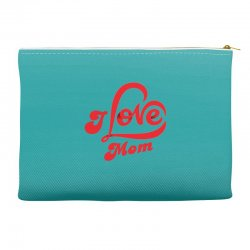 I love mom Accessory Pouches | Artistshot