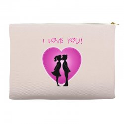 I love you Accessory Pouches | Artistshot
