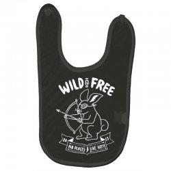 wild and free Baby Bibs | Artistshot