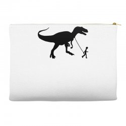 funny t rex pet banksy guys stencil t shirt indie Accessory Pouches | Artistshot