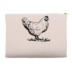 funny chiken Accessory Pouches | Artistshot
