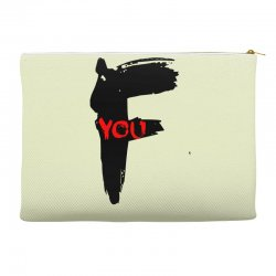 funny mens t shir 'f'yout Accessory Pouches | Artistshot