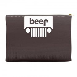 funny jeeps customs logo on men black Accessory Pouches | Artistshot