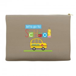 Let's go to school Accessory Pouches | Artistshot