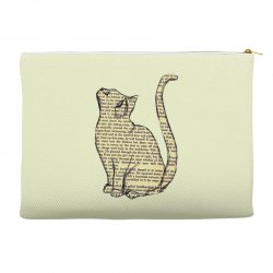 cats text Accessory Pouches | Artistshot