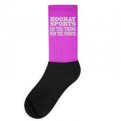 hooray sports win points Socks | Artistshot