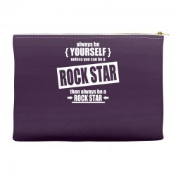 funny rock star Accessory Pouches | Artistshot