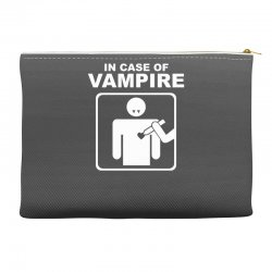 funny vampire Accessory Pouches | Artistshot