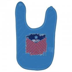 USA Flag Vector Baby Bibs | Artistshot