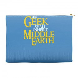 geek shall inherit middle earth Accessory Pouches   Artistshot