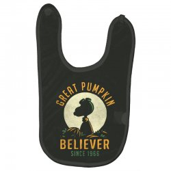 Great Pumpkin Believer Baby Bibs | Artistshot