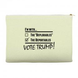 Donald Trump Deportables Accessory Pouches | Artistshot