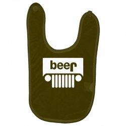 funny jeeps customs logo on men black Baby Bibs | Artistshot