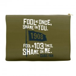 funny chicago cubs Accessory Pouches | Artistshot