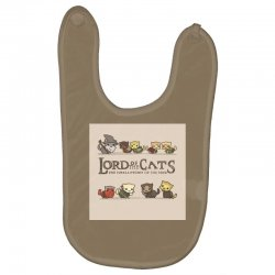 Lord Of The Cats Baby Bibs | Artistshot