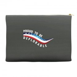 Proud To Be Deplorable Accessory Pouches   Artistshot