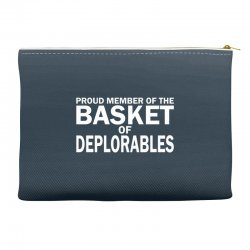PROUD MEMBER OF THE BASKET OF DEPLORABLES Accessory Pouches | Artistshot