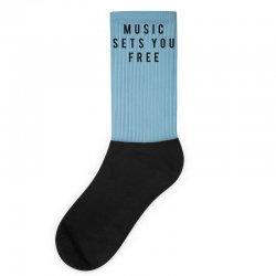 music sets you free Socks | Artistshot
