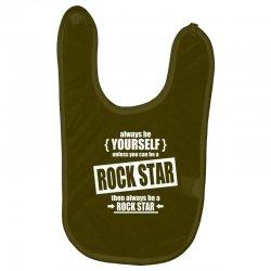 funny rock star Baby Bibs | Artistshot