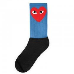 Comme Des Garcons Play Socks   Artistshot