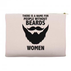 funny beards Accessory Pouches | Artistshot