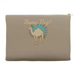 funny hump day camel Accessory Pouches   Artistshot