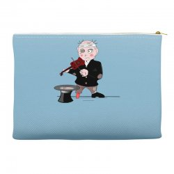 music for life Accessory Pouches | Artistshot