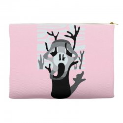 the tree's scream Accessory Pouches | Artistshot