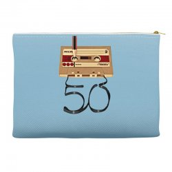 music tape retro Accessory Pouches | Artistshot