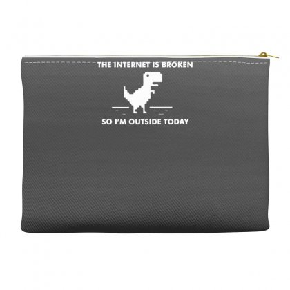 The Internet Is Broken Accessory Pouches Designed By Gematees