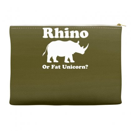 Rhino Or Fat Unicorn Accessory Pouches Designed By Gematees
