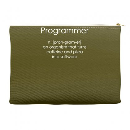 Programmer Coder Software Engineer Loose Accessory Pouches Designed By Gematees