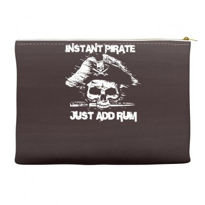 Instant Pirate Just Add Rum Accessory Pouches Designed By Gematees