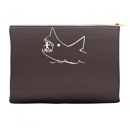Great White Shark Accessory Pouches Designed By Gematees